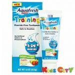 Aquafresh Training Toothpaste (3-24m) - 425g (apple Banana)