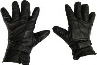 Sphinx Leather Winter And Riding Gloves For Men - Black (large)