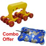 Czar Combo Of Medirelax Roller With Warm Bag Heating Pad