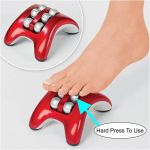 Czar Mini Foot Massager With 6 Massaging Rollers, Pain Relief Increase Blood Massager