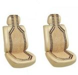 Autoright Car Wooden Bead Seat Cover Set Of 2 For Toyota Innova Vehicle Seating Pad (pack Of 2)