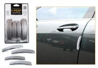 Autoright-ipop Car Door Guard Set Of 4 PCs Silver For Ford Figo Aspire