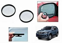 Autoright 3r Round Flexible Car Blind Spot Rear Side Mirror Set Of 2-toyota Fortuner