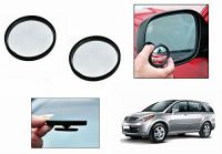 Autoright 3r Round Flexible Car Blind Spot Rear Side Mirror Set Of 2-tata Aria