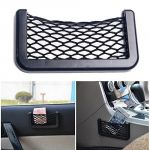 Autoright 7.7 Inches Net Type Mobile Holder/pocket Organizer/string Bag Mobile Holder Universal Size For Bmw X3