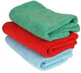 Autoright - Multi Purpose Microfiber Dry Wet Cleaning Polishing Cloth Set Of 3