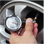 High Quality Car Tire Air Pressure Gauge Meter Tyre For Bike N Car