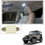 Autoright 16 Smd LED Roof Light White Dome Light For Mahindra Thar