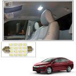 Autoright 16 Smd LED Roof Light White Dome Light For Honda City