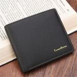 Curewe Kerien Bifold Wallet Leather Card Holder Clutch Short Purse For Men