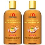 Man Arden Bergamot & Cedarwood Luxury Shower Gel - Bergamot & Cedarwood Essential Oils Body Wash - 300 Ml (pack Of 2)