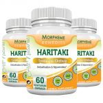 Morpheme Haritaki 500mg Extract 60 Veg Caps - 3 Bottles