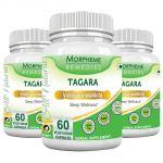 Morpheme Valerian (tagara) 500mg Extract 60 Veg Caps - 3 Bottles