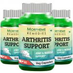 Morpheme Arthritis Support - 600mg Extract - 60 Veg Caps - 3 Bottles