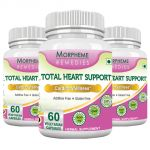 Morpheme Total Heart Support- 500mg Extract - 60 Veg Caps - 3 Bottles