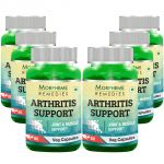 Morpheme Arthritis Support - 600mg Extract - 60 Veg Caps - 6 Bottles