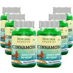 Morpheme Cinnamon 500mg Extract 60 Veg Caps - 6 Bottles