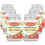 Morpheme Complete Detox 500mg Extract 60 Veg Caps - 6 Bottles