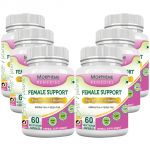 Morpheme Female Support 600mg Extract 60 Veg Caps - 6 Bottles