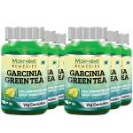 Morpheme Garcinia Green Tea - 500mg Extract 60 Veg Caps - 6 Bottles