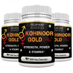 Morpheme Kohinoor Gold Plus 500mg Extract 90 Veg Caps - 3 Bottles