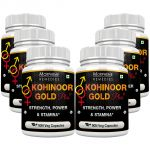 Morpheme Kohinoor Gold Plus 500mg Extract 90 Veg Caps -pack Of 6 Bottles