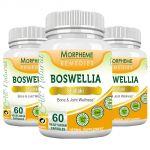 Morpheme Boswellia (shallaki) Caps 500mg Extract 60 Veg Caps - 3 Bottles