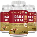 Musclexp Daily Vital (one Daily) Multi Vitamin - 60 Tablets (pack Of 3)
