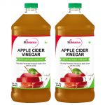 Stbotanica Apple Cider Vinegar - 500ml Pack Of 2 - With Mother Vinegar