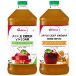 Stbotanica Apple Cider Vinegar With Honey + Apple Cider Vinegar
