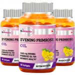 St.botanica Evening Primrose Oil 1000 Mg 60 Softgels - 3 Bottles