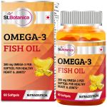St.botanica Fish Oil 1000mg - 300mg Omega 3 - 60 Softgels