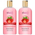 St.botanica Strawberry & Vitamin E Nourishing Luxury Body Wash - Strawberry & Vitamin E Oil Body Wash - 300 Ml (pack Of 2)
