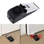 Wireless Home Door Stop Alarm Vibration Trigger Security System
