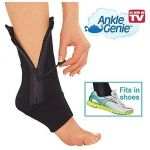 As Seen On TV Ankle Genie Zip Up Compression For Reducing Swelling & Supporting Ankle Weaknes