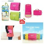 Hand Bag Organizer & Toiletry Kit With 2 Detachable Pouches
