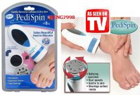 As Seen On TV Pedispin Professional Callus, Dead Dry Skin Remover. Foot Pedicure