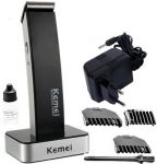 Km 619 Hair Trimmer Clipper With Dock For Men