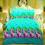 Vertex Industries 3d Polyester Bedsheet Double Vibs.1001