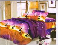Syk 5d Soft Cotton Double Bedsheet With Two Pillow Covers