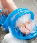 Inindia Waterproof Easy Foot Cleaner Shower Slipper For All Age Groups ( Foot Spa)