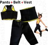 Inindia Hot Shaper Complete Set For Women - Vests- Pants-belt