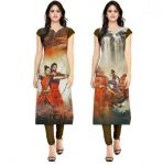 Morpich Fashion Buy 1 Get 1 Free Bahubali Kurti(mf13)