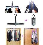 2 X Magic Clothes Hangers Rack,plastic Magic Hangers