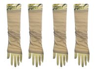 Wearable Tattoo Arm Sleeves Skin Cover For Sun Protection(beige Color) -2 Pairs