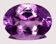 Ruchiworld 7.63 Ct Certified Natural Amethyst (jamunia) Loose Gemstone