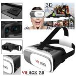 Vr - Box- Imported Virtual Reality 3d Glasses Vr Box 2.0 Headset For Smart Phone