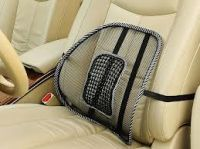 Set Of 2 Car Seat Massage Chair Back Lumbar Support Mesh Ventilate Cushion