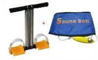 Tummy Trimmer 2 Spring With Sauna Belt