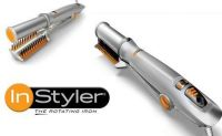Hair Instyler Rotating Iron Hair Straightener And Curling Iron